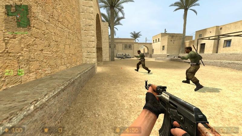 Counter-Strike Source. Видео игры De_Dust