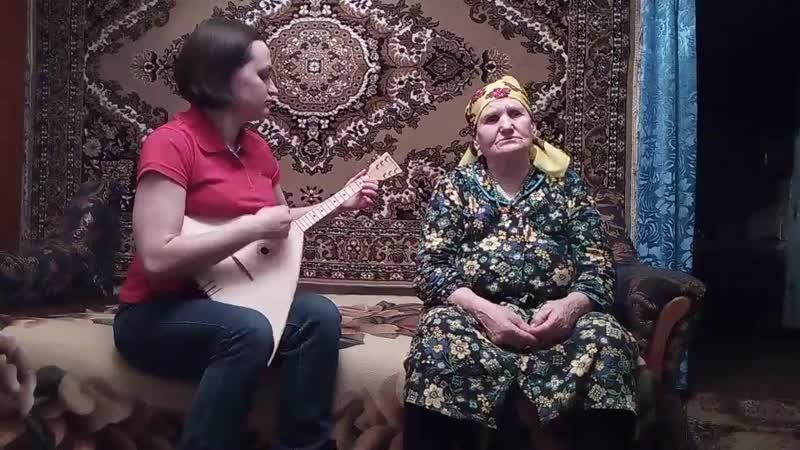 Долгие страдания - Сухинина Мария Васильевна с. Солдатское, Острогожского р-на