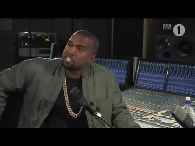 Kanye West - I just told you who I thought I was - a God!