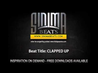 CLAPPED UP (Hard, Gangsta, Club Instrumental) Sinima Beats