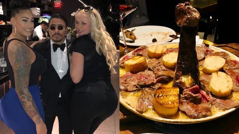 Salt Bae | Nusret Steakhouse New York The Full Amazing Experience! nusr_et