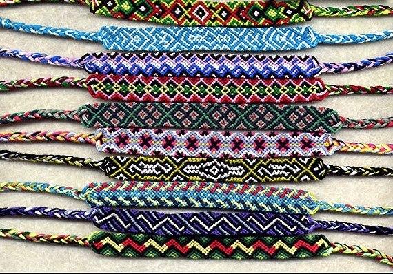 Фенечки (схемы,уроки,плетение)