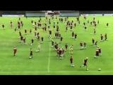 В детском лагере в Дании футболисты отрабатывают новый финт Неймара #ФИФА18 #FIFA18 #РОССИЯ2018 #RUS2018 #ЧМ18 #WorldCup18