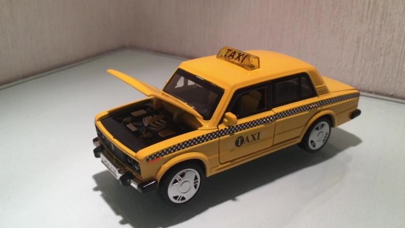 Такси Lada 6-ка Звуксвет. 14см.