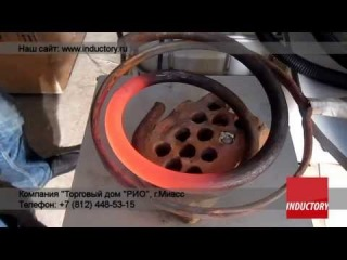 Индукционный нагрев пружин при помощи ВЧ-40АВ