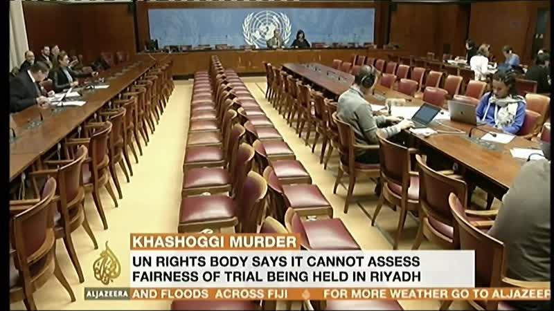 Jan 2019. UN Criticisms of the Khashoggi Saudi Trial