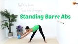BARRE WORKOUT Standing Abs - BARLATES Standing Barre Abs with Linda Wooldridge