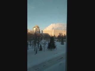 Белый дом в Самаре окутало дымом.mp4