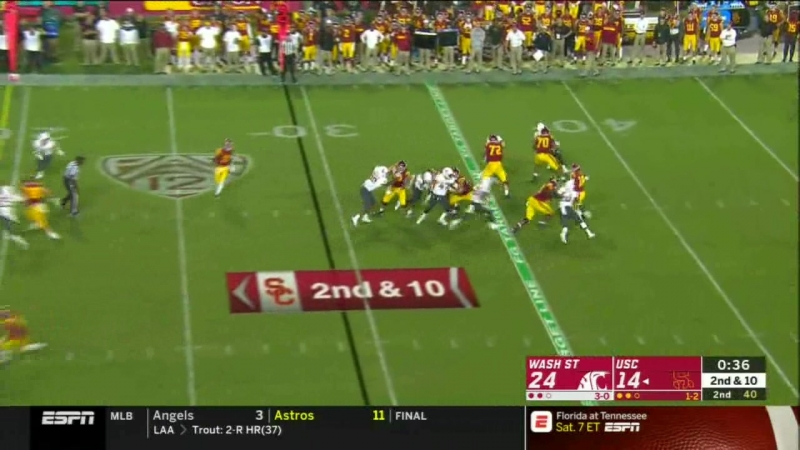 NCAAF 2018 Week 04 Washington State vs USC