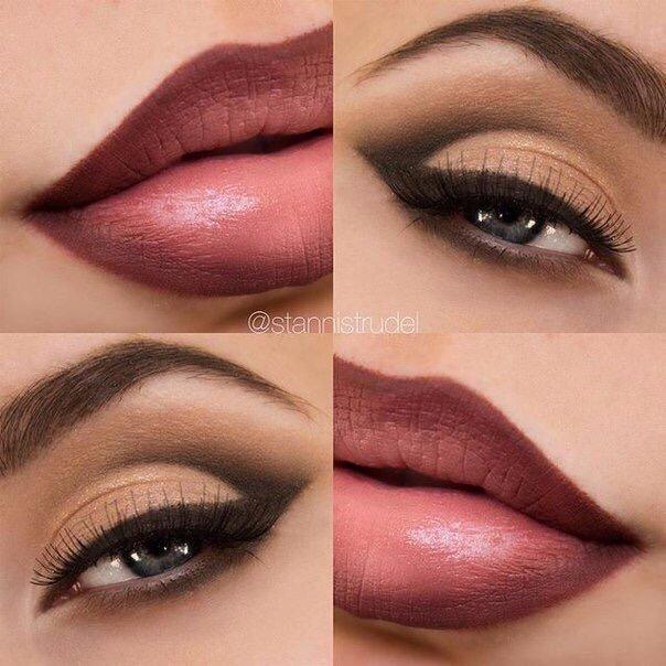 Шикарный макияж! (1 фото) - картинка