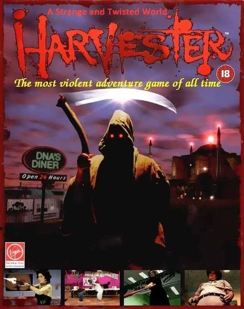 Ловите годноту короче. Harvester (1996) - FMV-хоррор-квест с черным юмором, глубоким смысловым подтекстом и просто отбитая вещь, для любителей маленьких городков американской глубинки, где