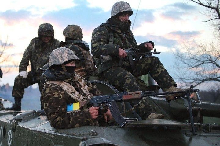 Под Славянском бойцы спецподразделения «Ягуар» уничтожили больше 50 террористов