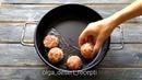 Обед • Мясные ёжики с фасолью