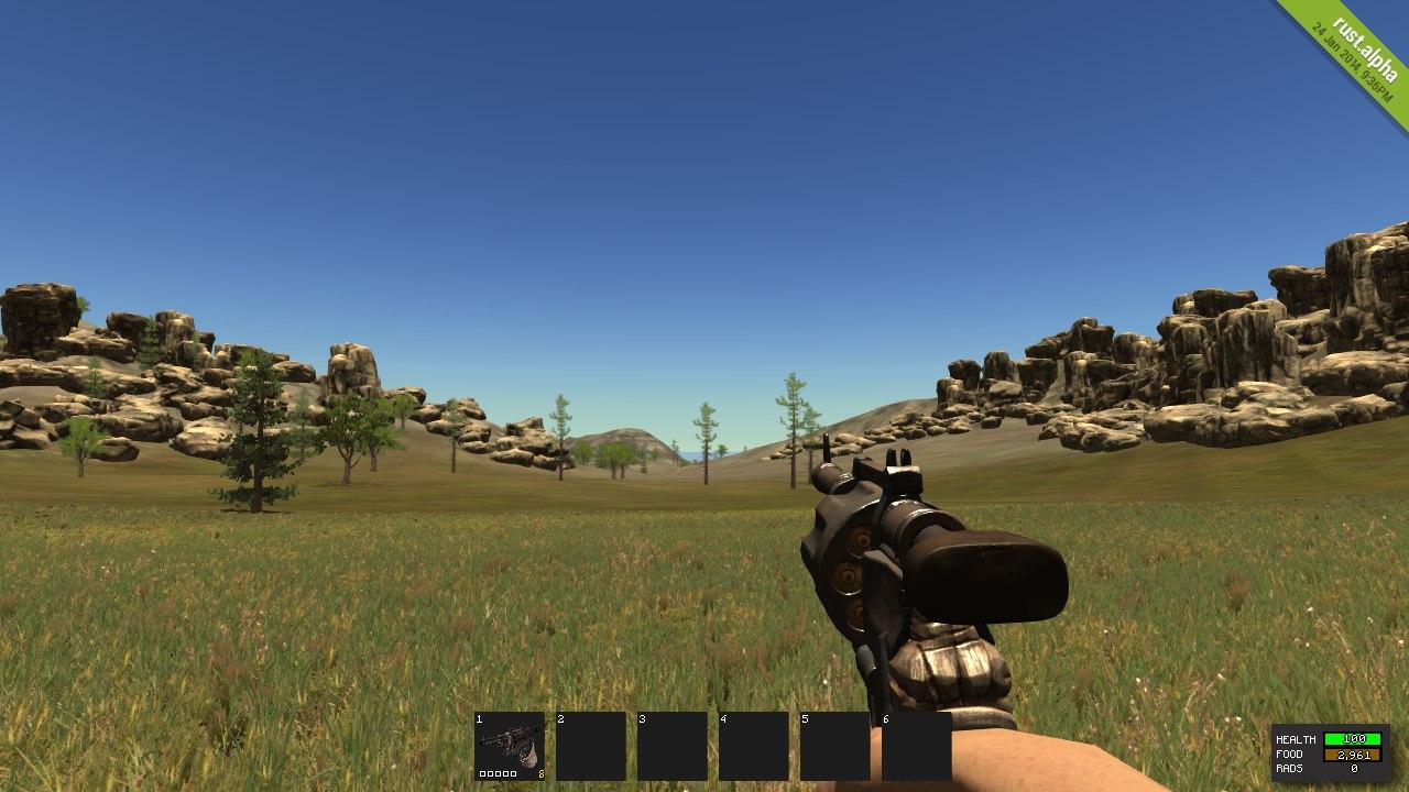 Как выглядит Revolver в игре Rust