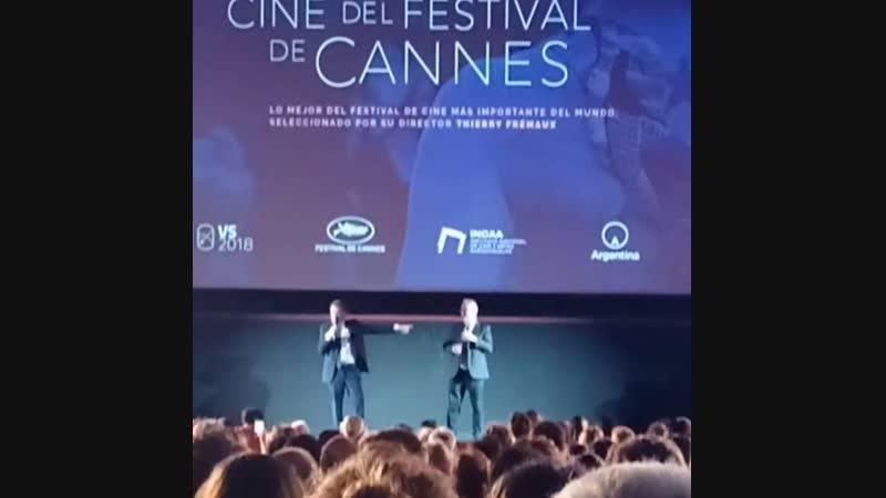 Thierry Frémaux y Tim Roth declaraban abierta la Semana de Cannes