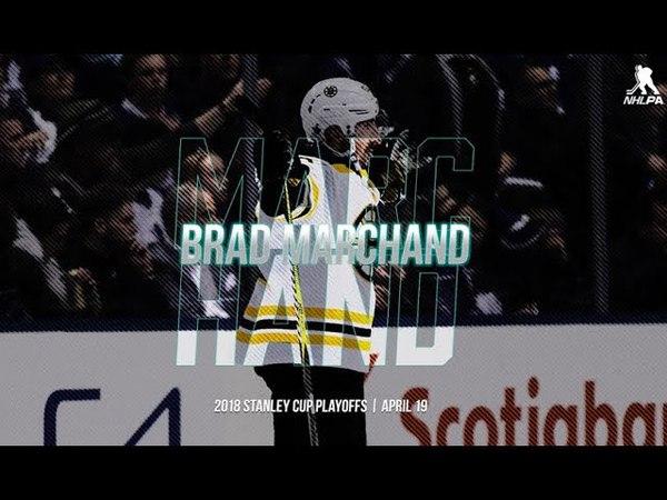 Брэд Маршанд   19.04.2018   Игрок дня по версии NHL PA
