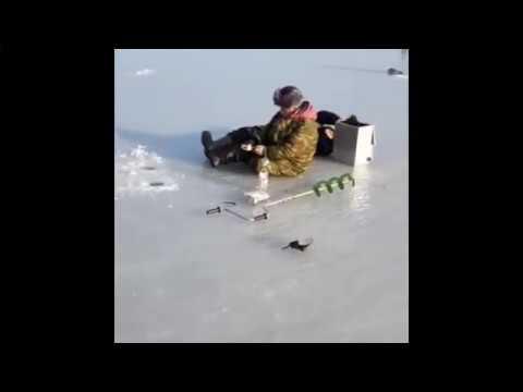 На лед выходят только подготовленные люди