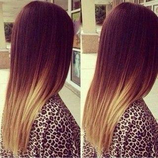 Покраска волос амбре картинки - 94589