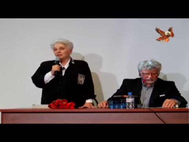 Вечер ВСХСОН 16.05.17. Выступление Н.Д. СОЛЖЕНИЦЫНОЙ