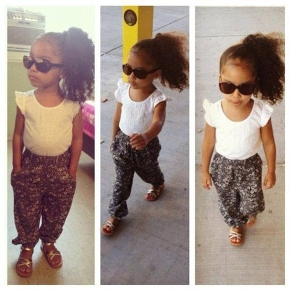 Cute Little Girls with Swag