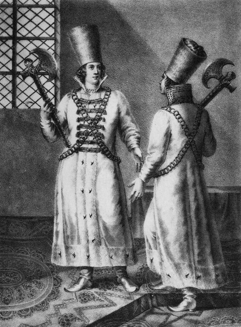 От стрельцов до казаков. Кто и как охранял русских царей? O1J71CFOZ1c