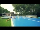 Развлечения на водной горке (VIDEO ВАРЕНЬЕ)