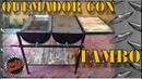DIY| Como hacer un Quemador con un Tambo