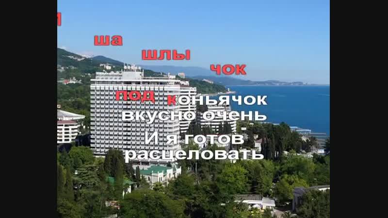 Трофим - Город Сочи.avi(караоке)