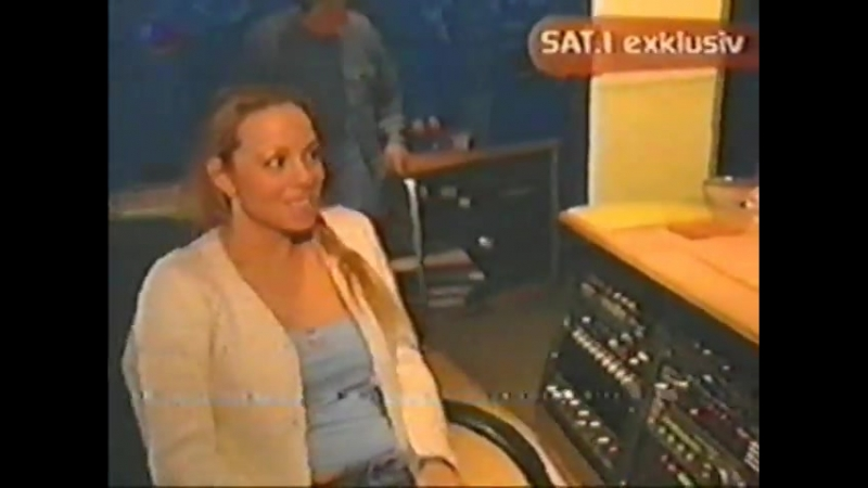 Mariah Carey - Backstage of Thank God I found you Remix (Acapella Rare)