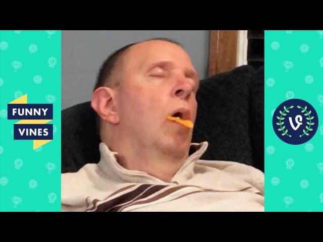Funniest Sleeping Fails Compilation 2017 - Best Wake Up Scare Pranks   Funny Vine