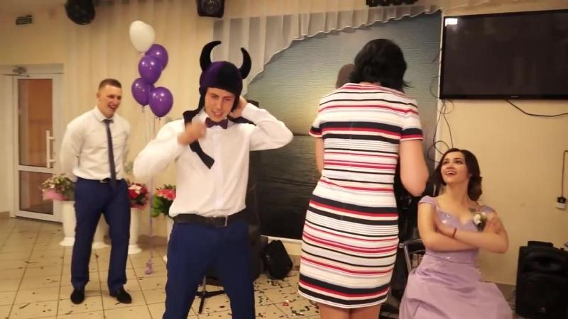 Свидетельница рвёт Danceпол! Тамада в шоке