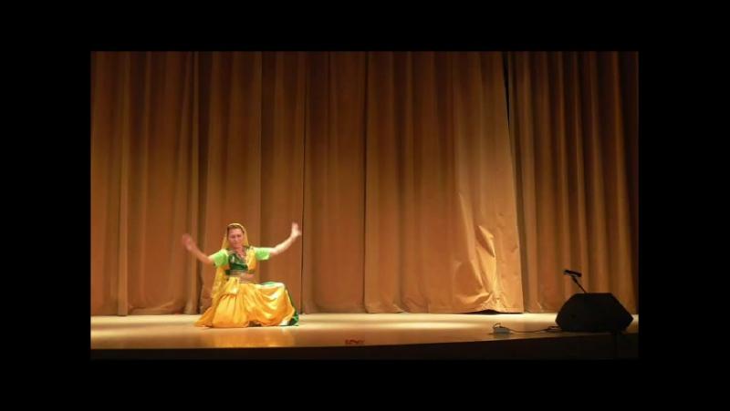 Индийский танец -Ольга Врублевская