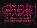 LaFee Unschuldig lyrics