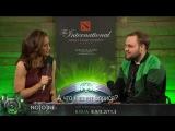 Интервью с No[o]ne после победы над OpTic Gaming. Плей-офф TI8