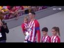 Atlético vs Eibar: haie d'honneur et 'hommage à Fernando Torres/homenaje a Fernando Torres
