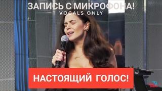Голос с микрофона: NK | Настя Каменских - Это моя ночь (Голый голос)