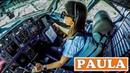 PAULA Pilots the BOEING 737 into Sao Paulo Brazil