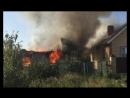 Тушение пожара в селе Шахманово Рязанского района