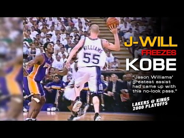 Jason Williams Freezes Kobe Bryant With His Career Best Assist! (Lakers @ Kings, 2000 Playoffs)
