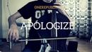 OneRepublic Apologize for cello and piano COVER