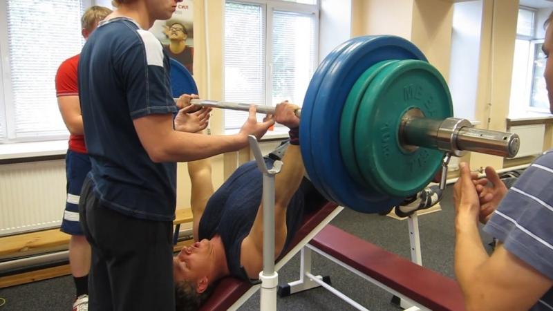Жим лежа обратно наклоненная скамья выжал 150 кг на 3 раза