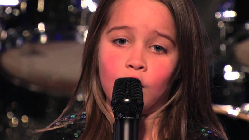 Шестилетняя девочка поет адский ТРЭШ