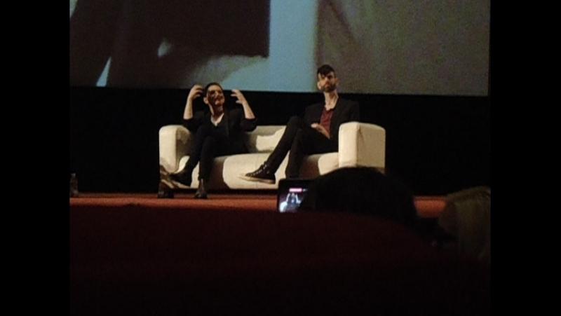 Москва. Кинотеатр Октябрь Пресс-конференция Placebo в честь премьерного показа фильма Placebo: Alt.Russia