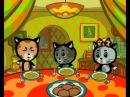 Мультики: Три котёнка - Что и чем надо есть