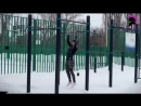 The Russian Queen Of Street Workout