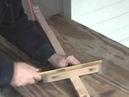 How to fret a cigar box guitar neck.wmv
