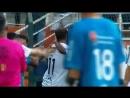 Шикарный гол Роналдиньо через половину поля!