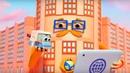 Домики Телеграф Обучающий мультфильм для детей как работает связь