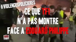Ce que TF1 n'a pas montré face à Edouard Philippe !