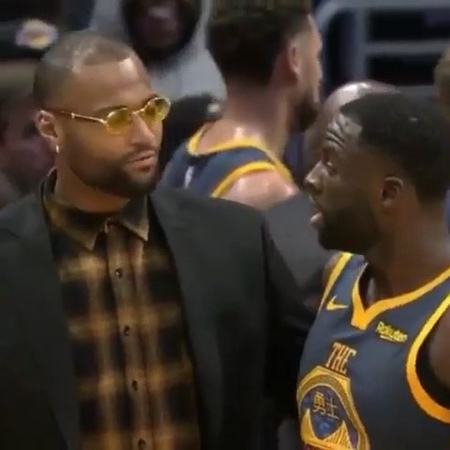 "Sports Sidelined 🎯 on Instagram: """"It's not my fault.. He's a bit*h, he's a bit*h.."" - Draymond venting to Boogie about KD 👀"""